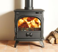 Dovre 250woodburning or multi-fuel versions cast iron 4.9Kw