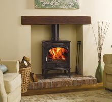 Dovre 425 woodburning or multi fuel versions cast iron 8Kw